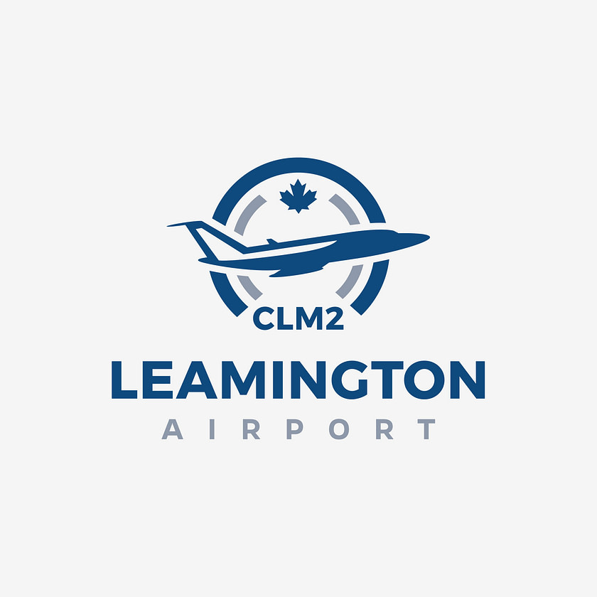 Logo design for Leamington Aiport, Canada