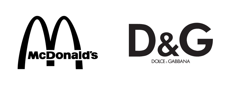 Letterform logo
