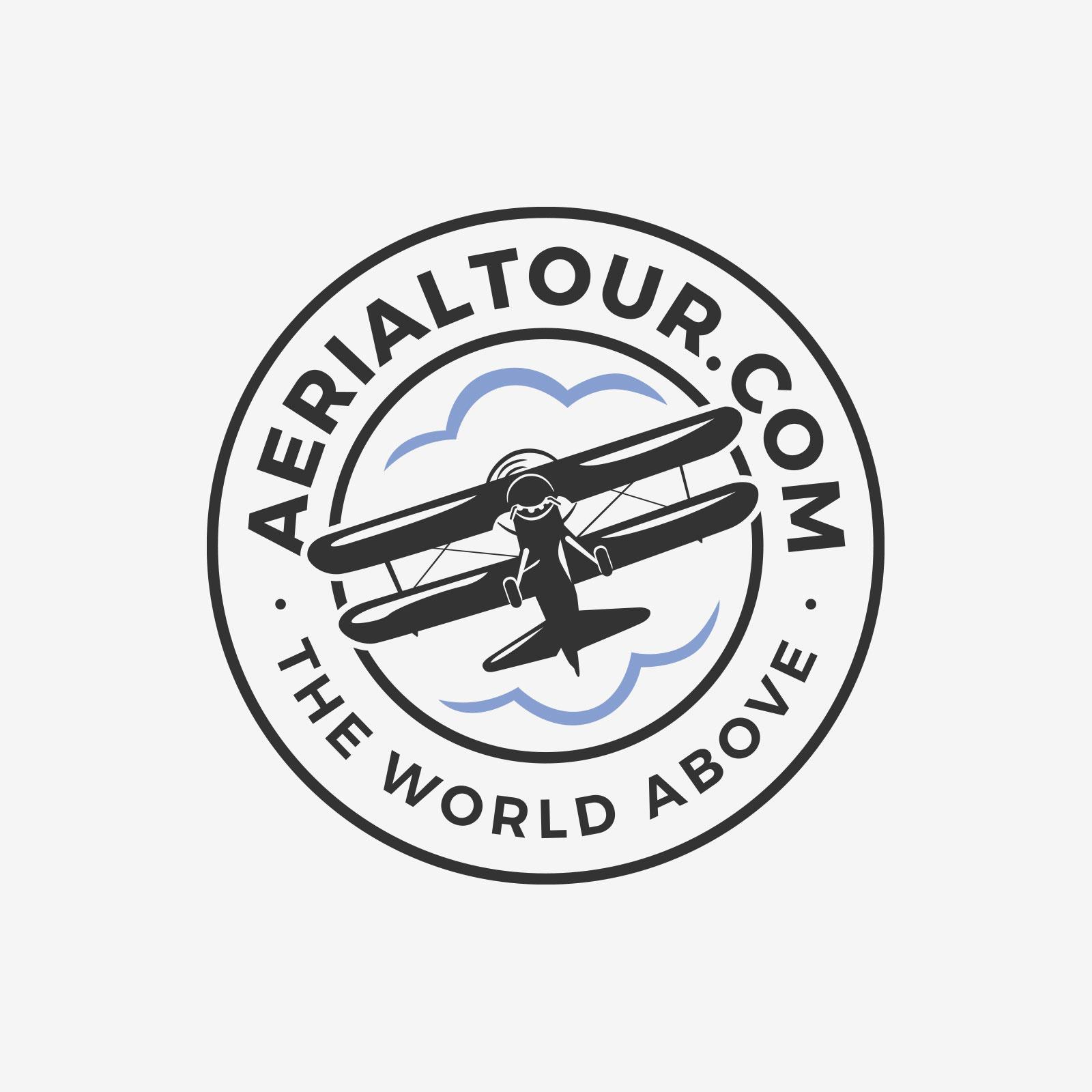 Logo design for AerialTour.com