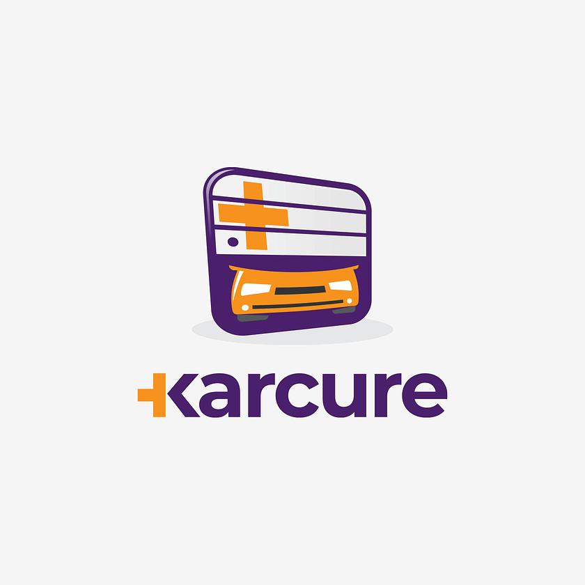 Karcure logo design