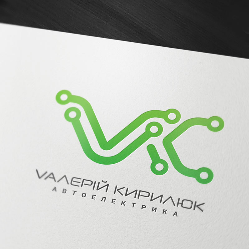 Logo design for VK Electronics