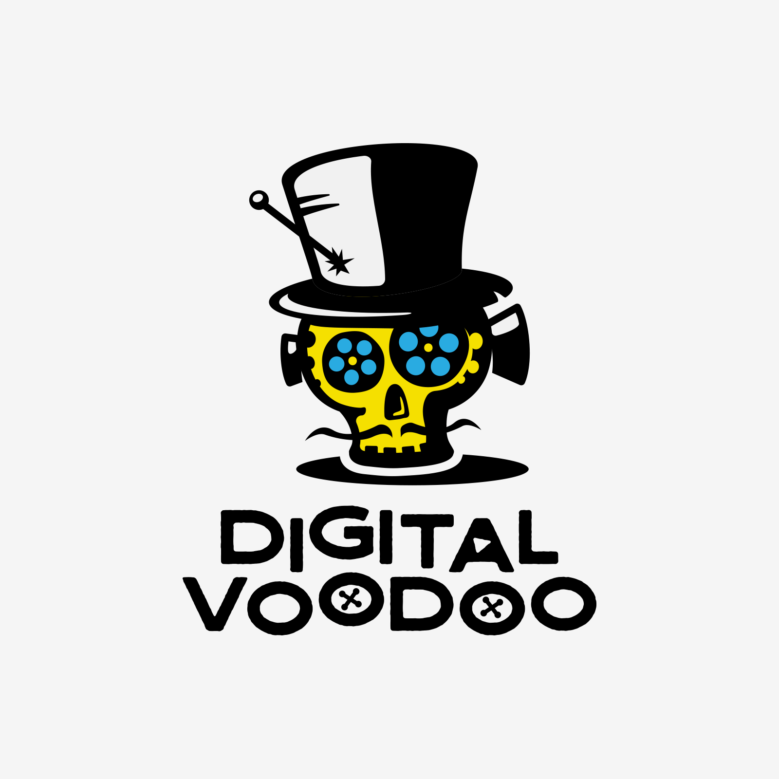 Logo design proposal for Digital Voodoo