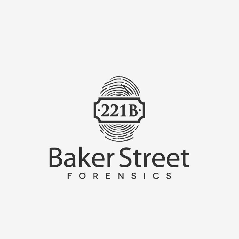 Logo design for Baker Street Forensics