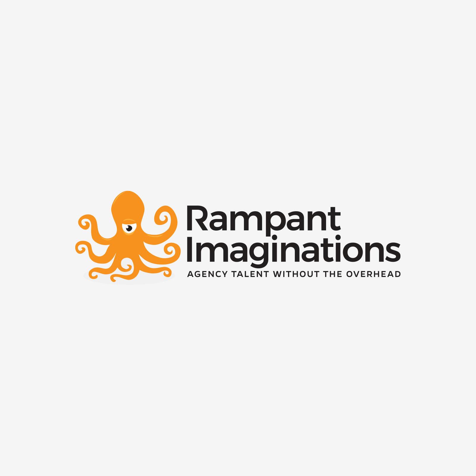 Logo design for Rampant Imaginations
