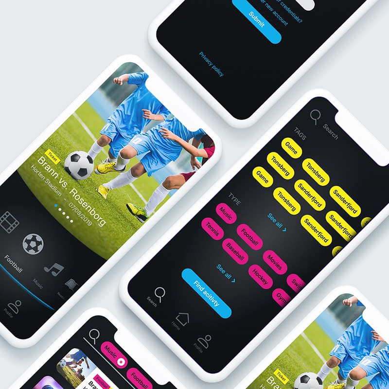 UI design for youth app