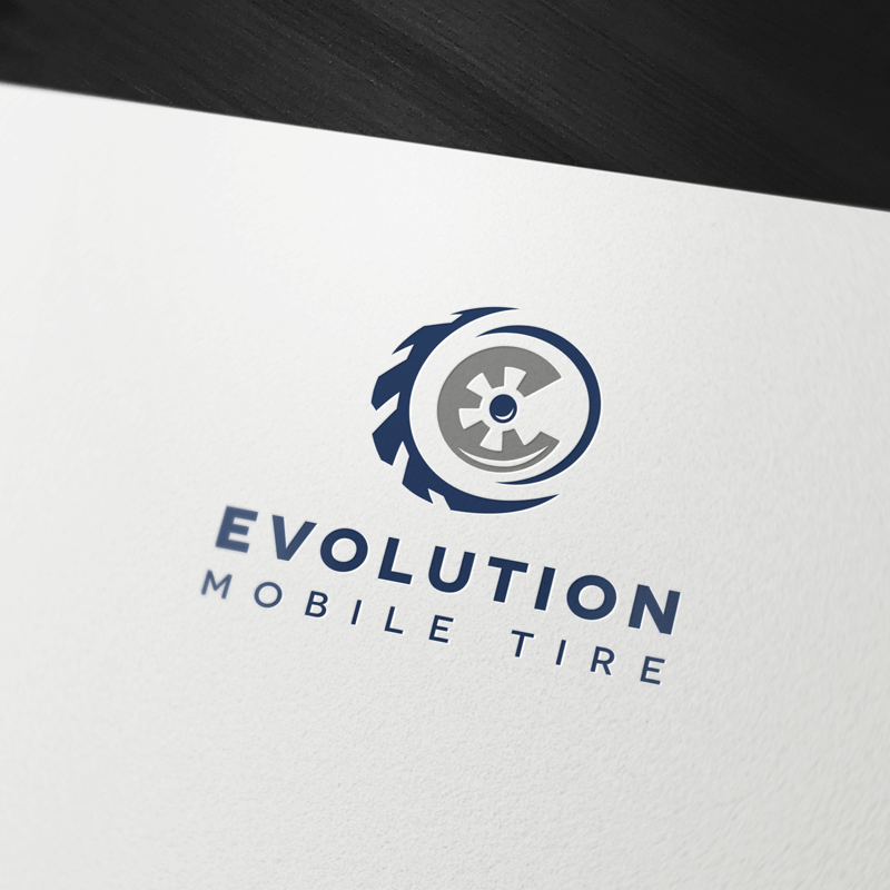 Evolution Mobile Tire Logo