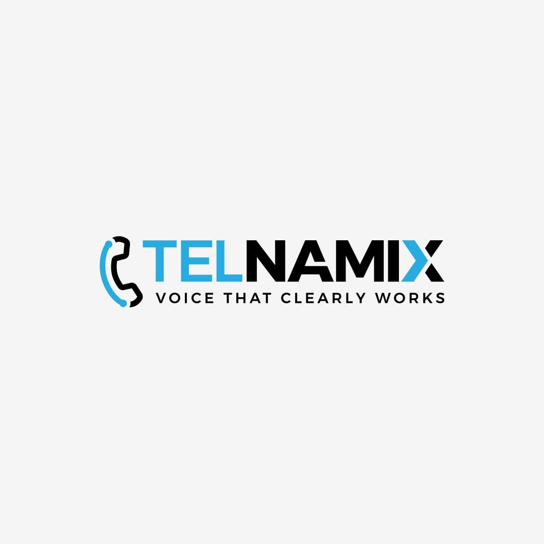 Logo design for Telnamix VoIP